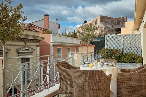 雅典阿瓦套房酒店 - 雅典 - 阳台
