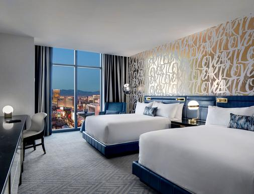 拉斯维加斯大都会酒店 - 拉斯维加斯 - 睡房