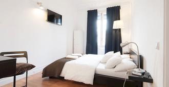 哇巴塞罗那旅馆 - 巴塞罗那 - 睡房