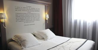 最佳西方古斯塔夫福楼拜文学酒店 - 鲁昂 - 睡房