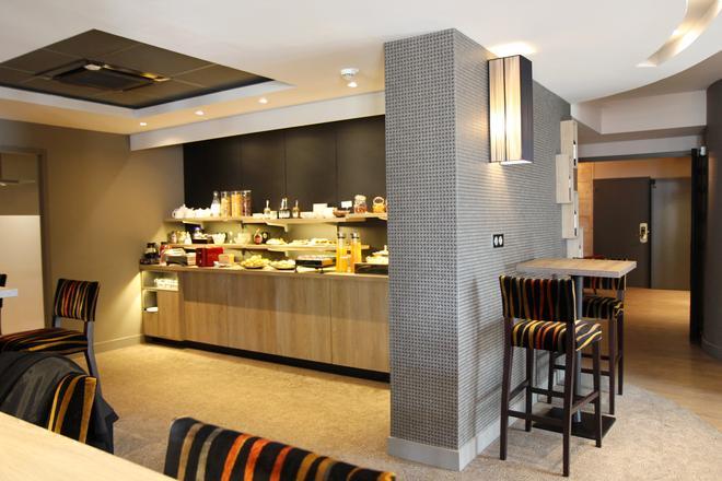圣约翰站贝斯特韦斯特Plus酒店 - 波尔多 - 自助餐