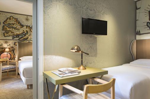 巴黎大陆酒店 - 巴黎 - 客厅