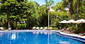 锡安卡恩巴西亚普林西佩豪华酒店 - 仅供成人入住 - 式 - 阿库马尔 - 游泳池