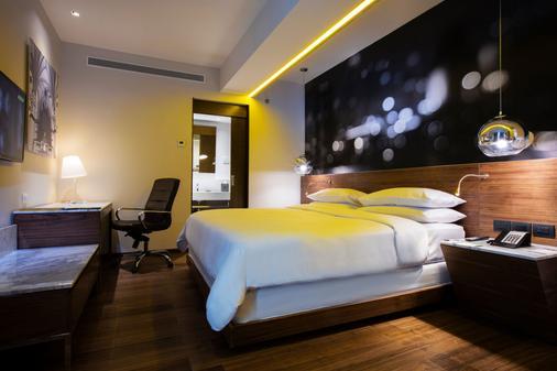 瓜达拉哈拉克里斯塔尔城市酒店 - 瓜达拉哈拉 - 睡房