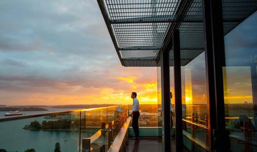 悉尼洲际酒店 - 悉尼 - 阳台