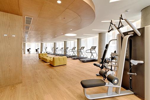 地拉那广场酒店 - 地拉那 - 健身房