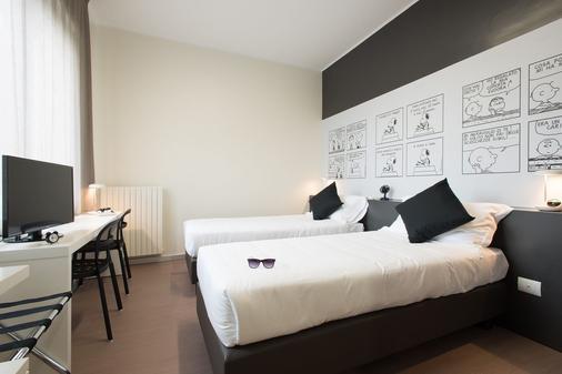 奥纳托酒店 - 米兰 - 睡房