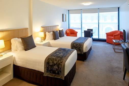 飞马公寓式酒店 - 墨尔本 - 睡房