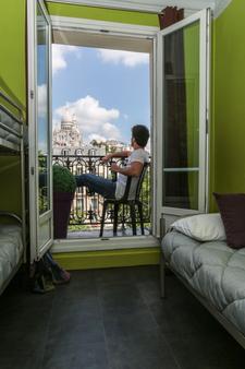 蒙马特摄政酒店 - 西佛伏酒店 - 巴黎 - 睡房