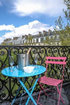 阿瓦隆巴黎火车北站酒店 - 巴黎 - 阳台