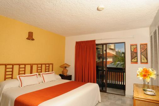 海滨帝国拉古纳法兰达酒店 - 坎昆 - 睡房