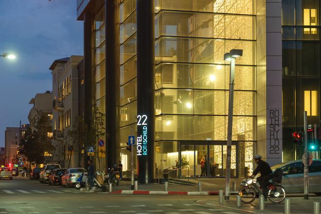 罗斯柴尔德22酒店 - 特拉维夫 - 建筑