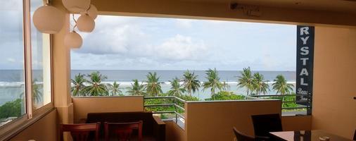 水晶海滩酒店 - Hulhumale - 餐馆