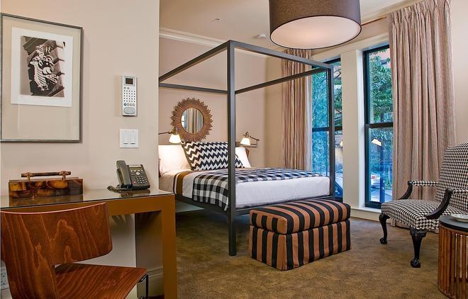 圣博托尔夫酒店 - 波士顿 - 睡房