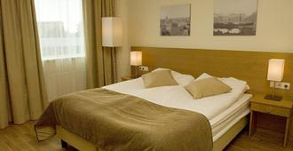 北极舒适酒店 - 雷克雅未克 - 睡房