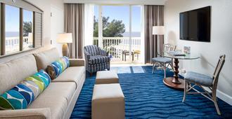 拉姆费斯海滩度假村信风酒店 - 圣皮特海滩 - 客厅
