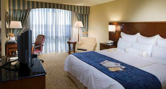 南休斯敦霍比机场万豪酒店 - 休斯顿 - 睡房