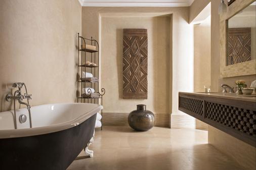 橘园别墅 - 罗莱夏朵酒店 - 马拉喀什 - 浴室