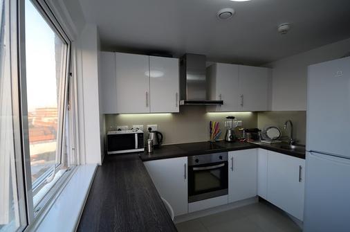 伦敦鹈鹕公寓酒店 - 伦敦 - 厨房