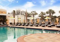 查尔斯顿万豪酒店 - 查尔斯顿 - 游泳池