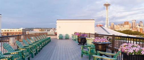 地中海旅馆 - 西雅图 - 阳台