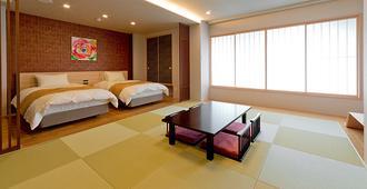 京都格兰爱慕斯酒店 - 京都 - 睡房