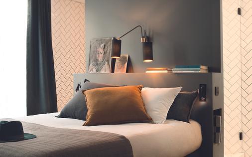 巴黎马奈酒店 - 巴黎 - 睡房