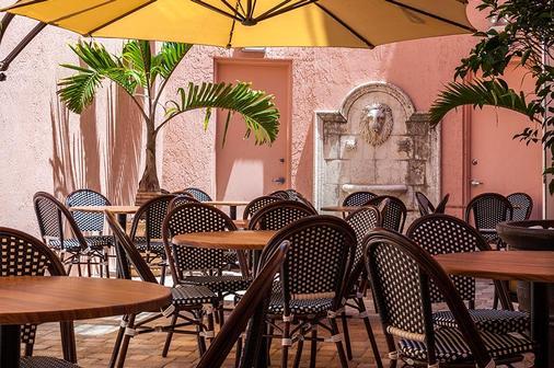 维多利亚卡萨兰花酒店 - 迈阿密海滩 - 餐馆
