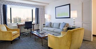 华盛顿国家广场酒店 - 华盛顿 - 客厅