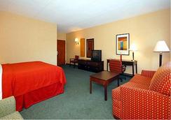 美洲商场品质酒店及套房 - Msp机场 - 布卢明顿 - 睡房