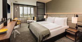 欧洲区法兰克福阿迪娜公寓酒店 - 法兰克福 - 睡房