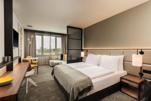 法兰克福西区阿狄娜公寓酒店 - 法兰克福 - 睡房