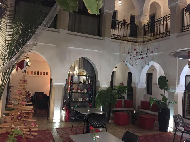 里亚德夏尼马水疗旅馆 - 马拉喀什 - 柜台