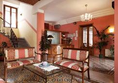 萨沃亚&坎帕纳酒店 - 蒙特卡蒂尼泰尔梅 - 大厅