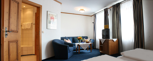 奥贝梅耶酒店 - 慕尼黑 - 客厅