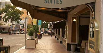加斯兰广场套房酒店 - 圣地亚哥 - 建筑