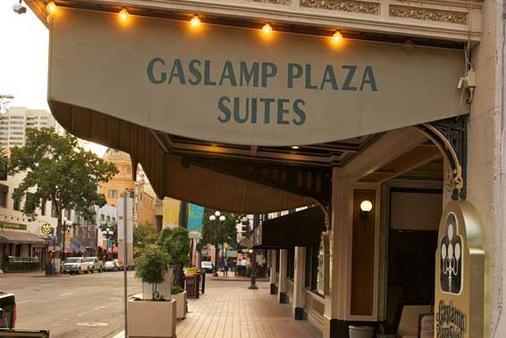 瓦斯灯广场套房酒店 - 圣地亚哥 - 建筑