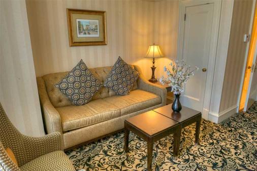 瓦斯灯广场套房酒店 - 圣地亚哥 - 客厅