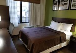 山坡酒店 - 皇后区 - 睡房
