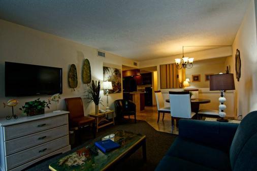 Sands Ocean Club Resort - 默特尔比奇 - 客厅