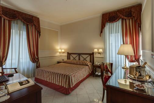 红衣主教宫酒店 - 罗马 - 睡房