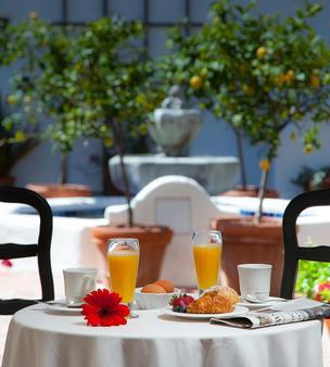 西班牙花园酒店 - 圣巴巴拉 - 食物