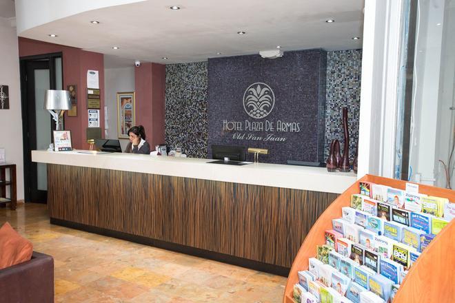 阿马斯广场酒店 - 圣胡安 - 柜台