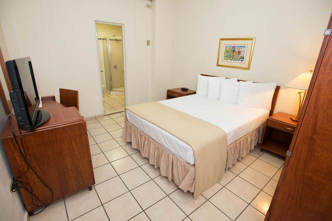 阿马斯广场酒店 - 圣胡安 - 睡房