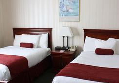 皇家大酒店 - Binghamton - 睡房