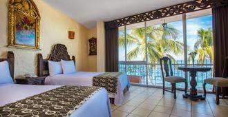 普拉亚洛杉阿科斯酒店 - 巴亚尔塔港 - 睡房