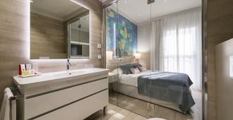 萨勒马拉加中央酒店 - 马拉加 - 睡房