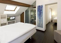 阿美利加酒店 - 洛迦诺 - 睡房