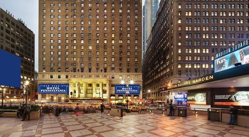 宾夕法尼亚酒店 - 纽约 - 建筑