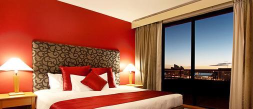 悉尼岩石区龙都酒店 - 悉尼 - 睡房